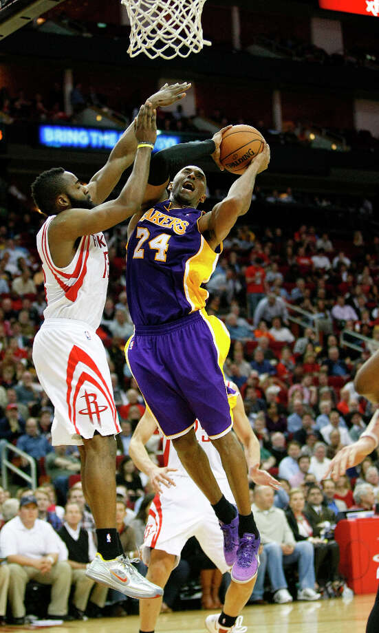 Name:Kobe BryantPosition: Shooting guardTeam: Los Angeles LakersAll-Star Appearances: 15 Photo: Johnny Hanson, Houston Chronicle / © 2012  Houston Chronicle