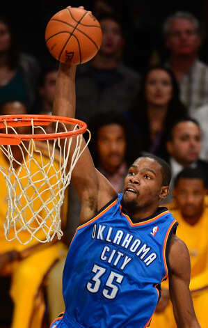 Name: Kevin DurantPosition: ForwardTeam: Oklahoma City ThunderAll-Star Appearances: 4 Photo: FREDERIC J. BROWN, AFP/Getty Images / AFP