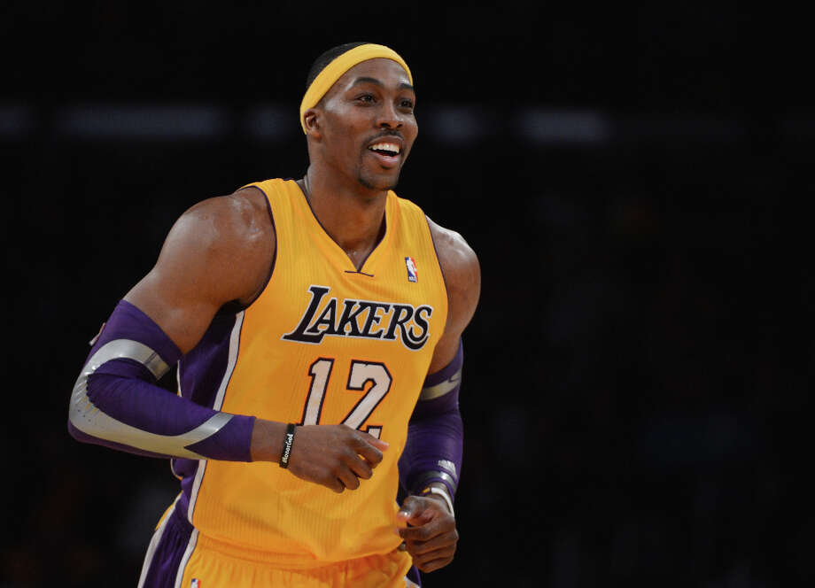 Name:Dwight HowardPosition: CenterTeam: Los Angeles LakersAll-Star Appearances: 7 Photo: Harry How, Getty Images / 2013 Getty Images