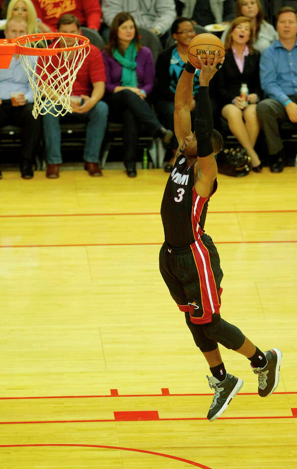 Name: Dwyane WadePosition: Shooting guardTeam: Miami HeatAll-Star Appearances: 9 Photo: Billy Smith II, Houston Chronicle / © 2012 Houston Chronicle