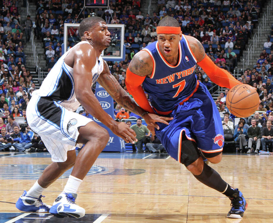 Name: Carmelo AnthonyPosition: ForwardTeam: New York KnicksAll-Star Appearances: 6 Photo: Gary W. Green, McClatchy-Tribune News Service / Orlando Sentinel
