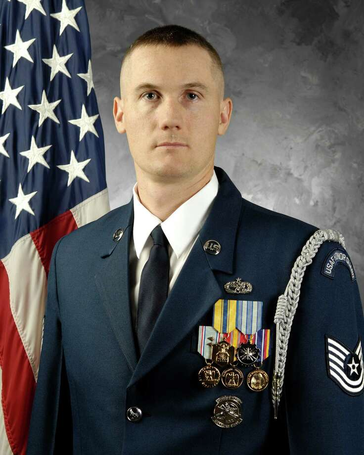 Air Force Tech Sgt Joseph Matulewicz, formerly of Guilderland.