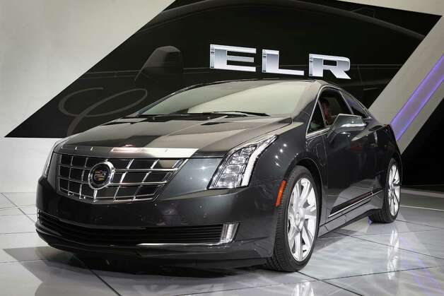 DETROIT, MI - JANUARY 15:  Cadillac shows off their ELR extended-range luxury hybrid, during the media preview at the North American International Auto Show on January 15, 2013 in Detroit, Michigan. The auto show will be open to the public January 19-27. Photo: Scott Olson, Getty Images / 2013 Getty Images