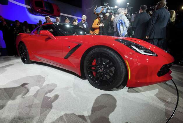 Chevrolet introduces the 2014 C7 Corvette Stingray at the 2013 North American International Auto Show at Cobo Center on Monday, January 14, 2013 in Detroit, Michigan. (Kathleen Galligan/Detroit Free Press/MCT) Photo: KATHLEEN GALLIGAN, McClatchy-Tribune News Service / Detroit Free Press