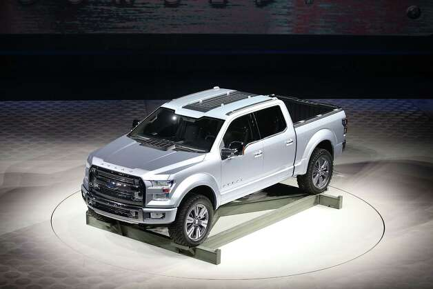 DETROIT, MI - JANUARY 15:  Ford introduces the Atlas Concept truck at the North American International Auto Show on January 15, 2013 in Detroit, Michigan. The auto show will be open to the public January 19-27. Photo: Scott Olson, Getty Images / 2013 Getty Images