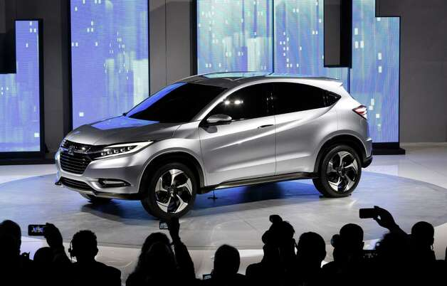 The Honda Urban SUV Concept is shown at media previews for the North American International Auto Show in Detroit, Monday, Jan. 14, 2013.  (AP Photo/Paul Sancya) Photo: Paul Sancya, Associated Press / AP