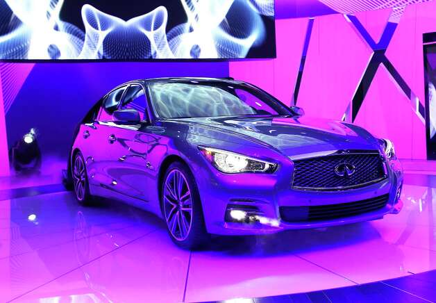 DETROIT, MI - JANUARY 14:  Infiniti introduces the 2014 Q50 to replace their best-selling G sedan at the North American International Auto Show on January 14, 2013 in Detroit, Michigan. The auto show will be open to the public January 19-27. Photo: Scott Olson, Getty Images / 2013 Getty Images