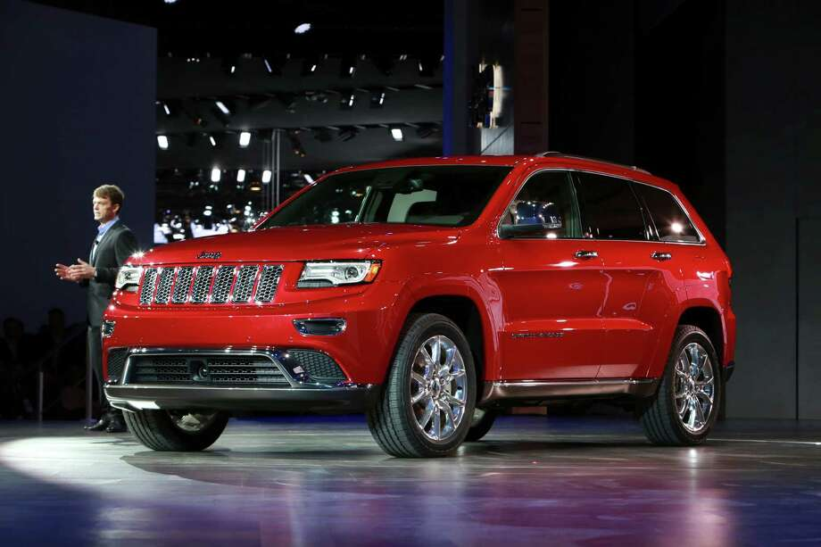 The 2014 Jeep Grand Cherokee at the North American International Auto Show at the Cobo Center in Detroit, Jan. 14, 2013. Photo: FABRIZIO COSTANTINI, New York Times / NYTNS