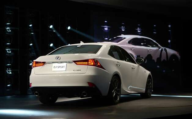 The Lexus IS 350 F Sport is introduced at the 2013 North American International Auto Show in Detroit, Michigan, January 14, 2013. AFP PHOTO/Stan HONDASTAN HONDA/AFP/Getty Images Photo: STAN HONDA, AFP/Getty Images / AFP