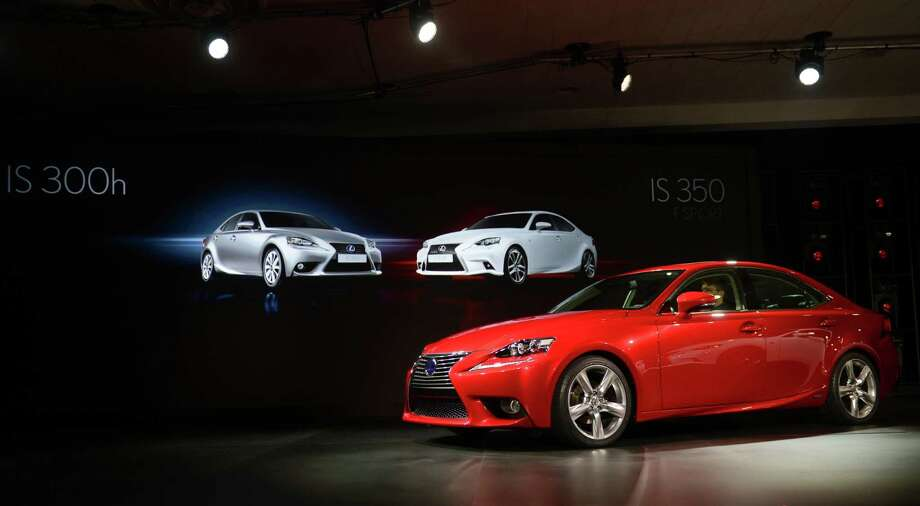 The Lexus IS 300h is introduced at the 2013 North American International Auto Show in Detroit, Michigan, January 14, 2013. AFP PHOTO/Stan HONDASTAN HONDA/AFP/Getty Images Photo: STAN HONDA, AFP/Getty Images / AFP
