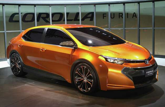 DETROIT, MI - JANUARY 14:  Toyota introduces the Corolla Furia Concept car at the North American International Auto Show on January 14, 2013 in Detroit, Michigan. The auto show will be open to the public January 19-27. Photo: Scott Olson, Getty Images / 2013 Getty Images