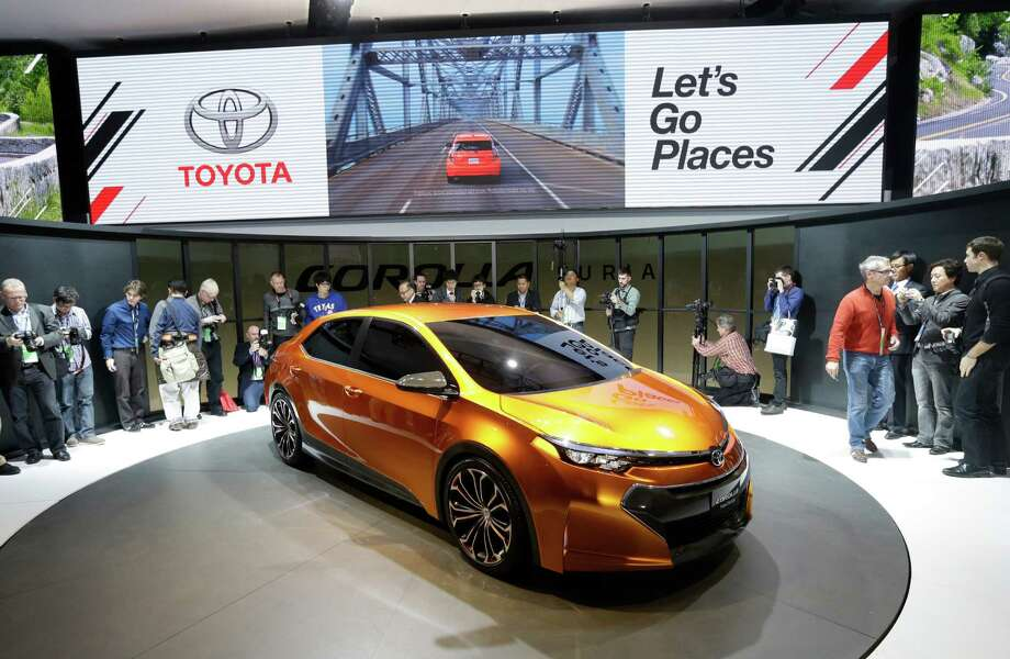 Toyota unveils the Corolla Furia Concept during the North American International Auto Show in Detroit, Monday, Jan. 14, 2013. (AP Photo/Carlos Osorio) Photo: Carlos Osorio, Associated Press / AP