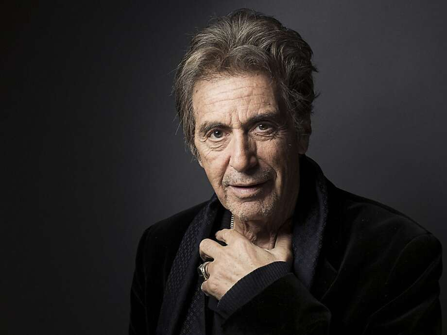 FILE - In this Dec. 7, 2012 file photo, Al Pacino poses for a portrait, in New York. Pacino will play Joe Paterno in a movie about the late Penn State football coach. Brian De Palma will direct ?Happy Valley,? the tentative title of the film, based on Joe Posnanski's best-seller ?Paterno.? (Photo by Victoria Will/Invision/AP, File) Photo: Victoria Will, Associated Press