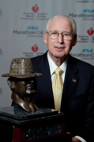 Kansas State head coach Bill Snyder is a candidate for the 2013 Marathon Oil Corporation Paul 'Bear' Bryant Award, Thursday, Jan. 17, in Houston. Photo: Nick De La Torre, Houston Chronicle / © 2013  Houston Chronicle