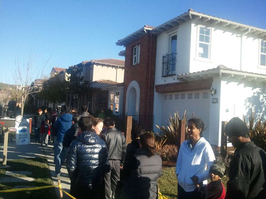The release of 4 model homes drew hundreds of interested homebuyers