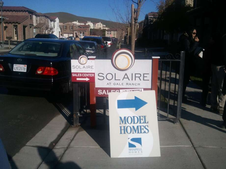 The four model homes are selling as is and for $50-90,000 over list price.