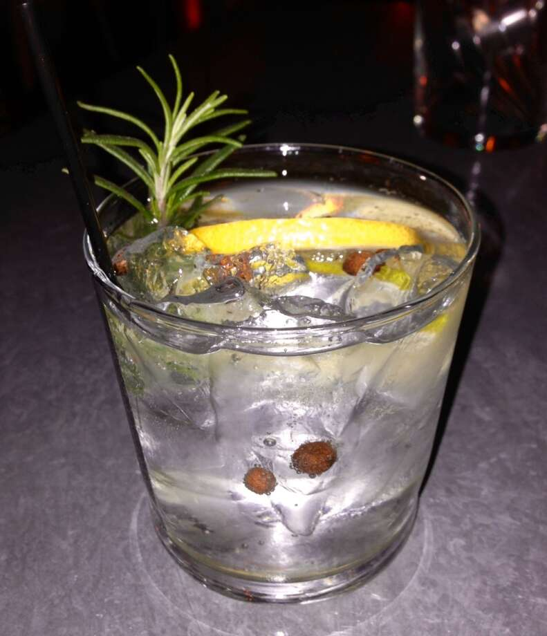 Gin and tonic at Bravas Bar de Tapas in Healdsburg