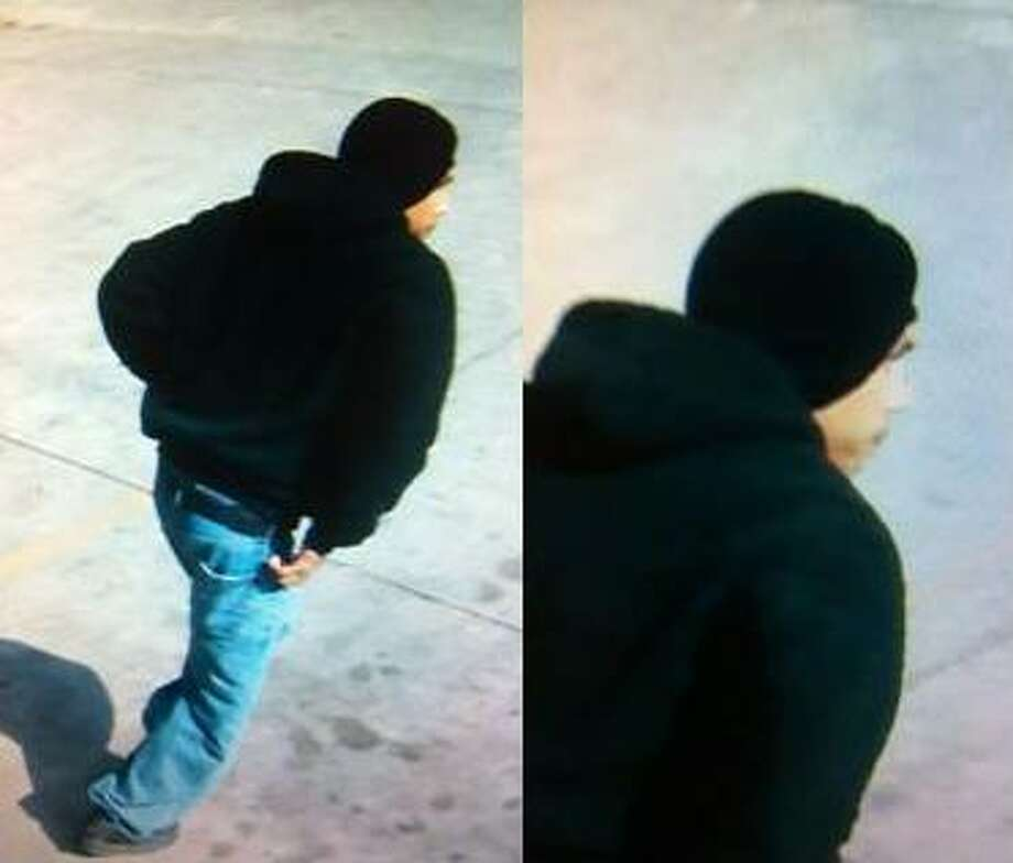 Police are seeking a suspect in the robbery of the Three Amigos convenience store that happened  Monday, Jan. 14, 2013. Photo: Courtesy