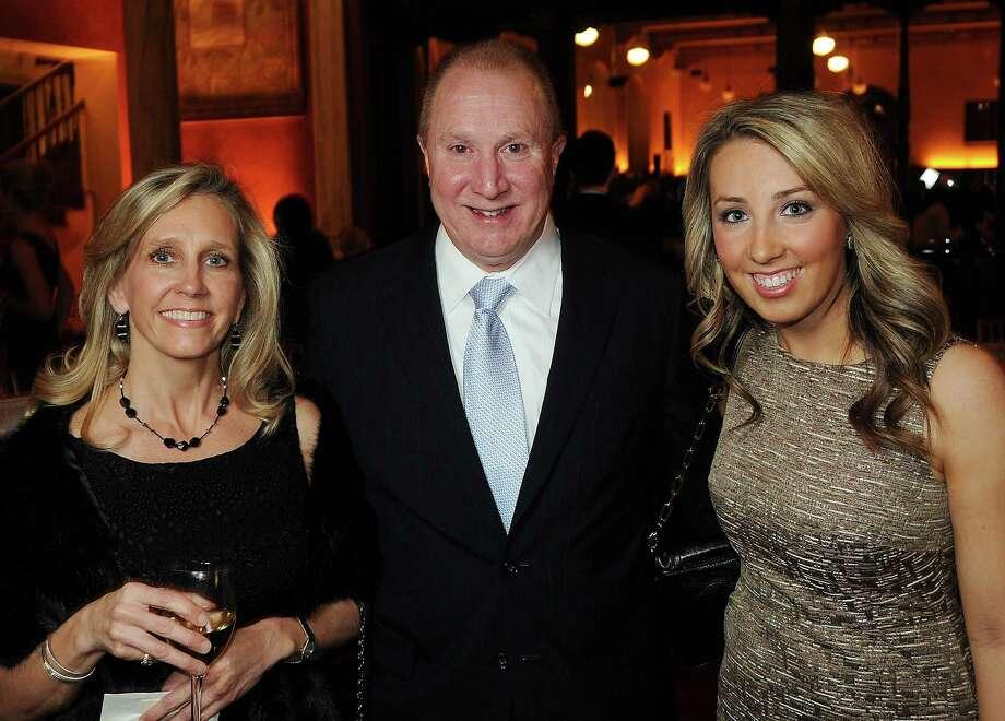 Lisa Langston, Stan Langston and Erin Ellis, from left. Photo: Dave Rossman, For The Houston Chronicle / © 2012 Dave Rossman