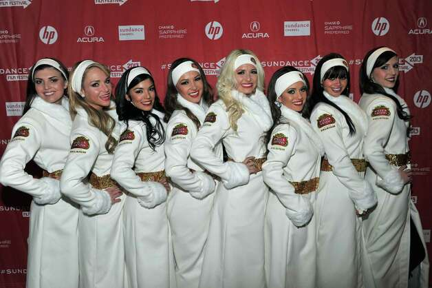 P:  Stella Artois brand ambassadors attend the Day One Party during the 2013 Sundance Film Festival at Legacy Lodge on Thursday.  (Photo by Sonia Recchia/Getty Images) Photo: Sonia Recchia, Ap/getty / 2013 Sonia Recchia