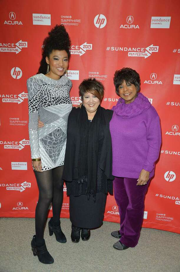 "PSingers Judith Hill, Tata Vega and Merry Clayton attend the ""Twenty Feet From Stardom"" Premiere at Eccles Center Theatre on Thursday.  (Photo by George Pimentel/Getty Images) Photo: George Pimentel, Ap/getty / 2013 George Pimentel"