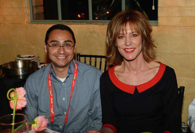 Politician Ross Romero and actress/director Christine Lahti attend An Artist At The Table, a benefit for the Sundance Institute during the 2013 Sundance Film Festival at The Shop on Thursday (Photo by Mark Davis/Getty Images) Photo: Mark Davis, Ap/getty / 2013 Getty Images