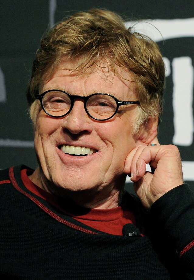 Robert Redford, founder and president of the Sundance Institute, smiles during the opening news conference of the 2013 Sundance Film Festival on Thursday. (Photo by Chris Pizzello/Invision/AP) Photo: Ap/getty