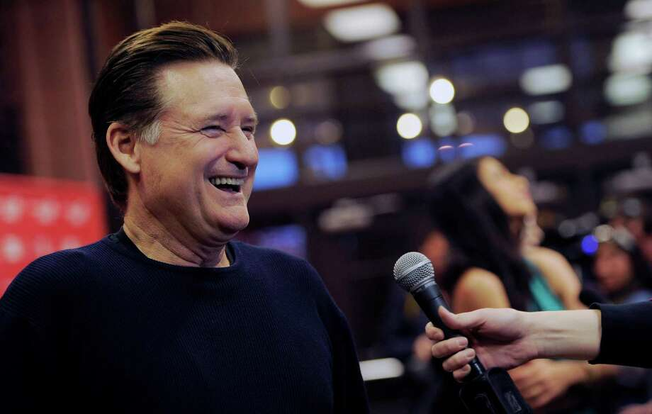 "Bill Pullman, a cast member in ""May in the Summer,"" is interviewed at the premiere of the film on the opening night of the 2013 Sundance Film Festival on Thursday. (Photo by Chris Pizzello/Invision/AP) Photo: Ap/getty"