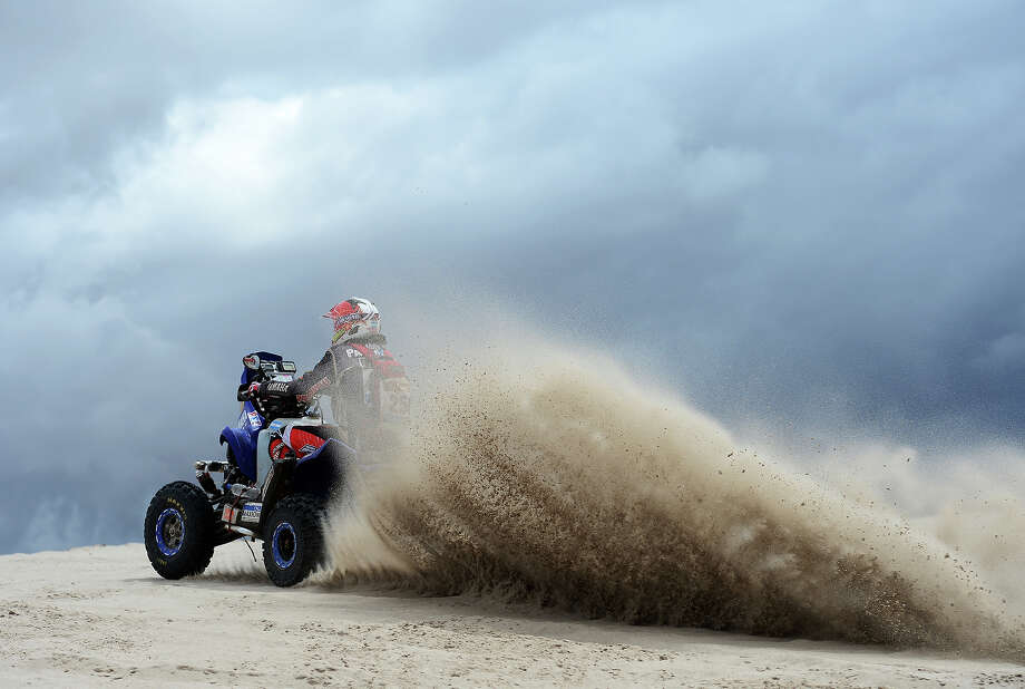 Marcos Patronelli of team Maffei Dakar competes in stage 11 from La Rioja to Fiambala during the 2013 Dakar Rally on January 16 in La Rioja, Argentina. Photo: Shaun Botterill, Getty Images / 2013 Getty Images