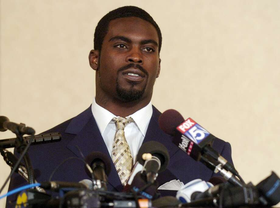 2007 | Michael Vick nabbed for dog-fighting ventureIn July 2007, when he was quarterback for the Atlanta Falcons, Michael Vick (pictured) was charged with operating an illegal dog-fighting venture called ''Bad Newz Kennels.'' That August, he and three co-defendants pleaded guilty and Vick was eventually sentenced to prison. He got out in July 2009 and returned to the NFL as QB with the Philadelphia Eagles. Photo: Jonathan Ernst, Getty Images / 2007 Getty Images