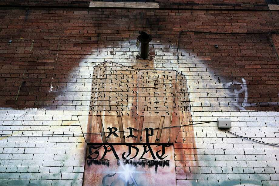 NEW YORK, NY - JANUARY 17:  A graffiti memorial adorns a wall in memory of a man in the Bedford-Stuyvesant neighborhood on January 17, 2013 in the Brooklyn borough of New York City. Visual memorials honoring residents who in many cases met violent ends decorate many Brooklyn neighborhoods. New York Governor Andrew Cuomo recently signed into law the New York Secure Ammunition and Firearms Enforcement Act, one of the toughest gun laws in the country. Photo: Spencer Platt, Getty Images / 2013 Getty Images