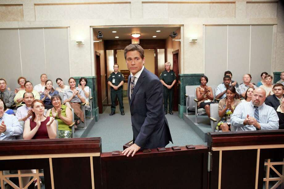 "Rob Lowe stars as Assistant State Attorney Jeff Ashton, prosecutor in the Casey Anthony case, in the Lifetime movie ""Prosecuting Casey Anthony."" The film airs at 7 p.m. Saturday. Photo: Allen Fraser / Imperfect Justice Productions Ltd."