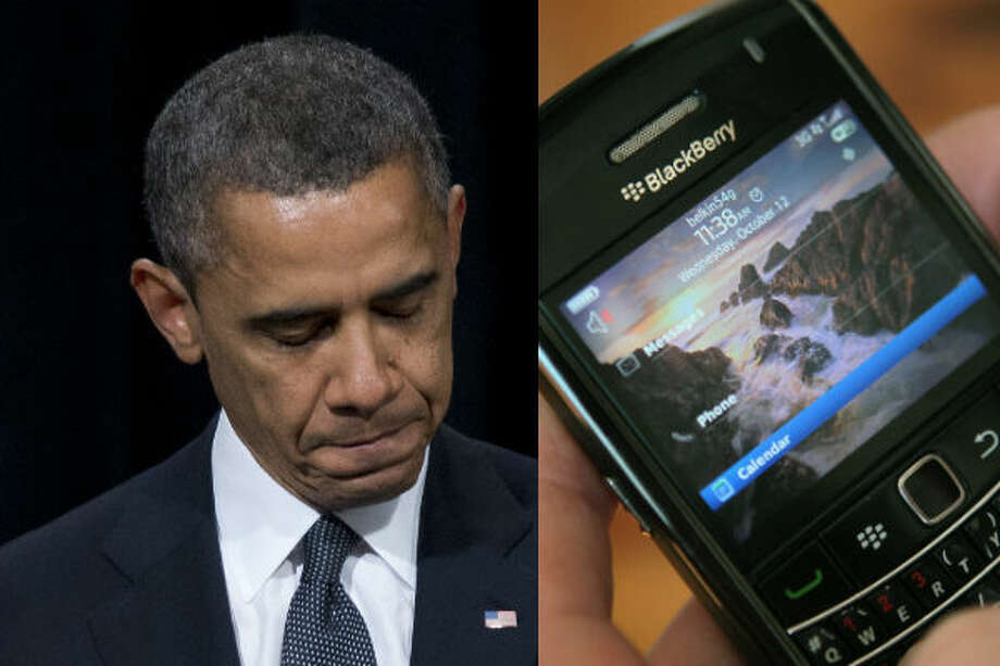 Barack Obama – Obama's first presidential term was full of firsts, many related to technology. Obama was the first president to use social media sites, such as Twitter, Facebook and Instagram. However, he'll likely be remembered more for being the first president with a smartphone. Much to the chagrin of government officials, Obama kept his personal Blackberry when he entered office.   