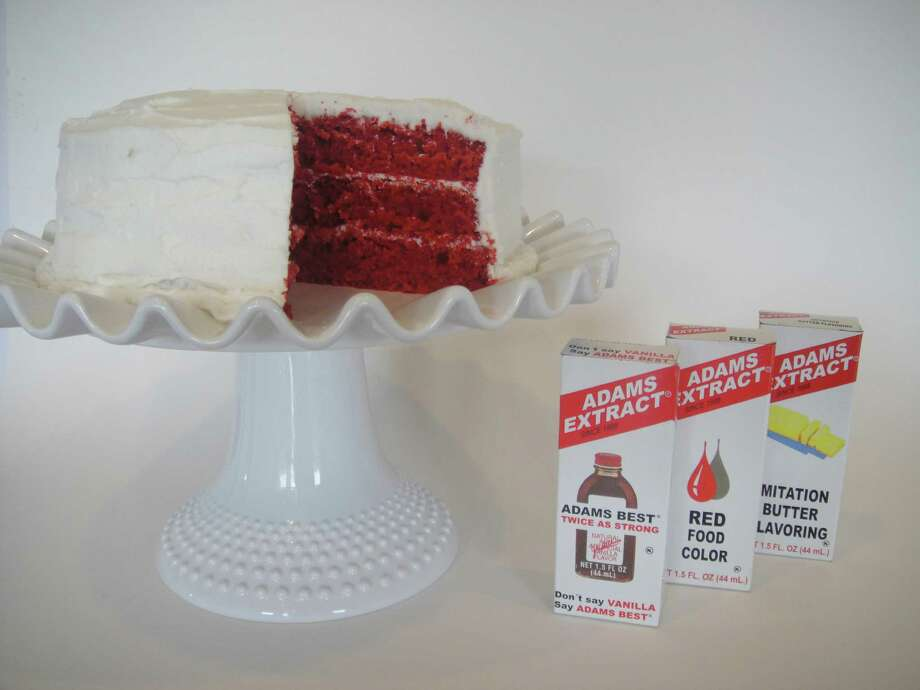 Adams food coloring helped popularize the red velvet cake. Courtesy photo