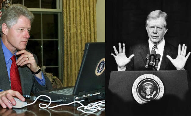 Jimmy Carter – Carter started the White House's transition from typewriters and written  documents to computers. Carter installed a Hewlett Packard 3000 in the West Wing  in 1978. Terminals were connected in the offices of senior and mid-level  staff.