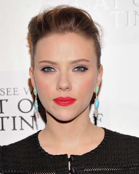 Actress Scarlett Johansson attends the Cat On A Hot Tin Roof Broadway opening night after party at T