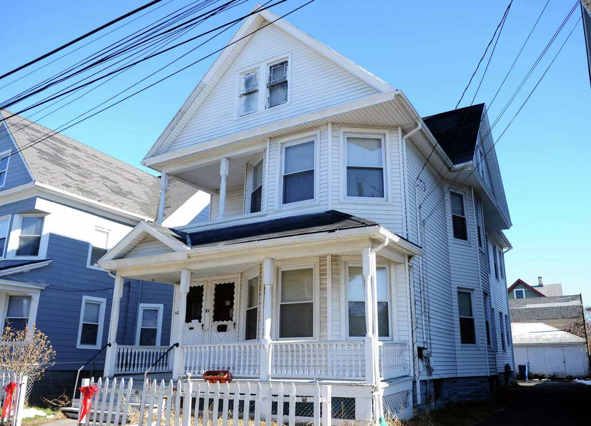 A house at 506 Brooks St. in Bridgeport, Conn. where state Rep. Christina Ayala, D-Bridgeport, has recently moved to in order to comply with a requirement to live in the district she represents (128).