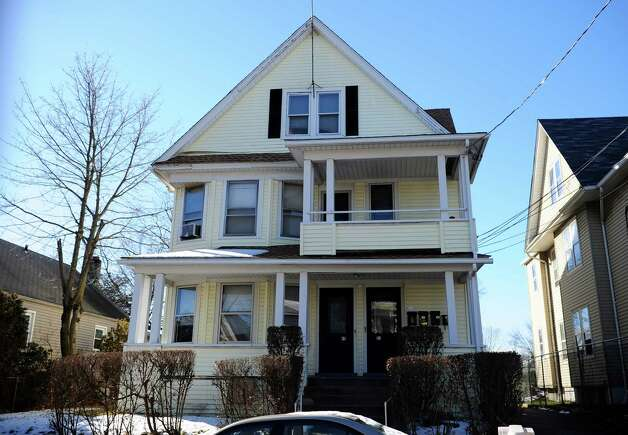 A house at 49 Hillside Ave. in Bridgeport, Conn. where arrest records indicated state Rep. Christina Ayala, D-Bridgeport, was living when elected. Photo: Autumn Driscoll / Connecticut Post
