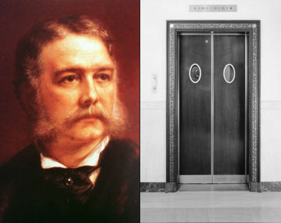 Chester A. Arthur: Arthur was in office when an elevator was installed at the White House. However,  James A. Garfield had asked for the elevator to be installed, but it was  postponed due to his illness.Source: Whitehousehistory.org