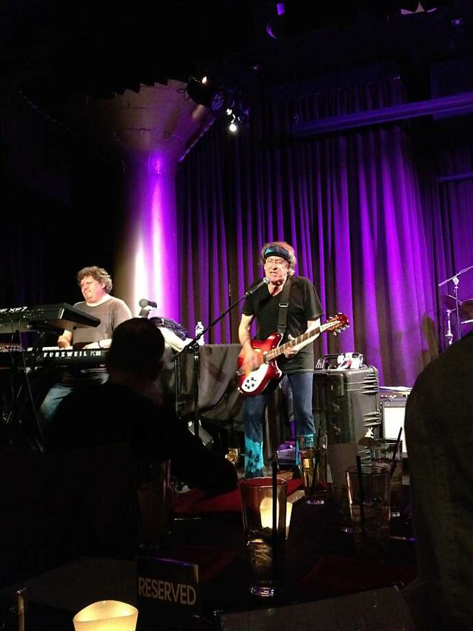 Paul Kantner and Jefferson Starship play Live at the Rrazz. Photo: Aidin Vaziri, The Chronicle