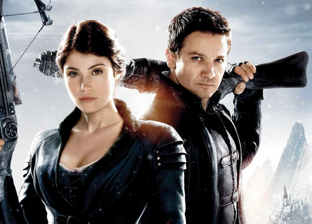 "Gemma Atherton and Jeremy Renner star in ""Hansel and Gretel: Witch Hunters."" Photo: Paramount Pictures"