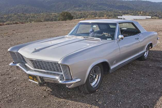 The 1965 Buick Riviera is a beautiful car. The founder of Jaguar praised its design, and the legendary Italian car stylist Sergio Pininfarina - famous for his Ferrari work - called it one of the most beautiful American cars ever built. Photo: Stephen Finerty