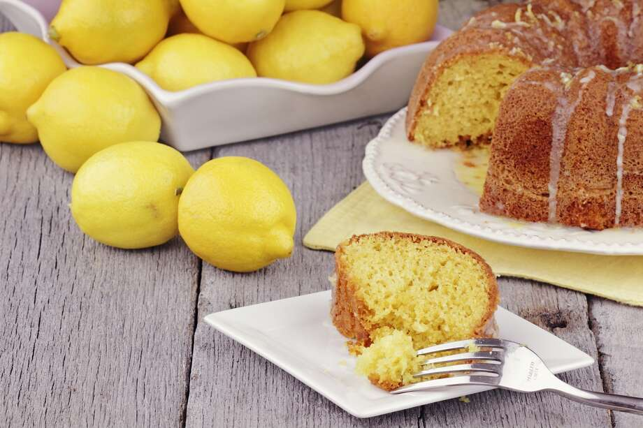 Lemon Velvet Cake depends on lemon extract for much of its flavor.