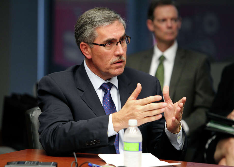 "Former Deputy City Manager Pat DiGiovanni (left) acted ""unknowingly""? Huh? Photo: File Photo, San Antonio Express-News / 2012 San Antono Express-News"