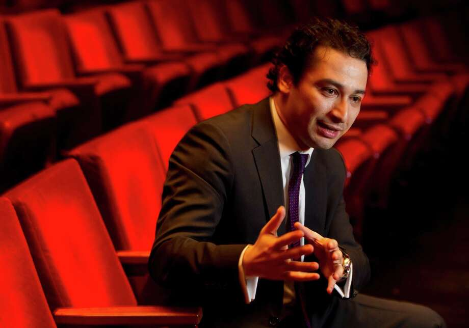 Andrés Orozco-Estrada is the symphony's 15th music director. Photo: Karen Warren, Staff / © 2013 Houston Chronicle