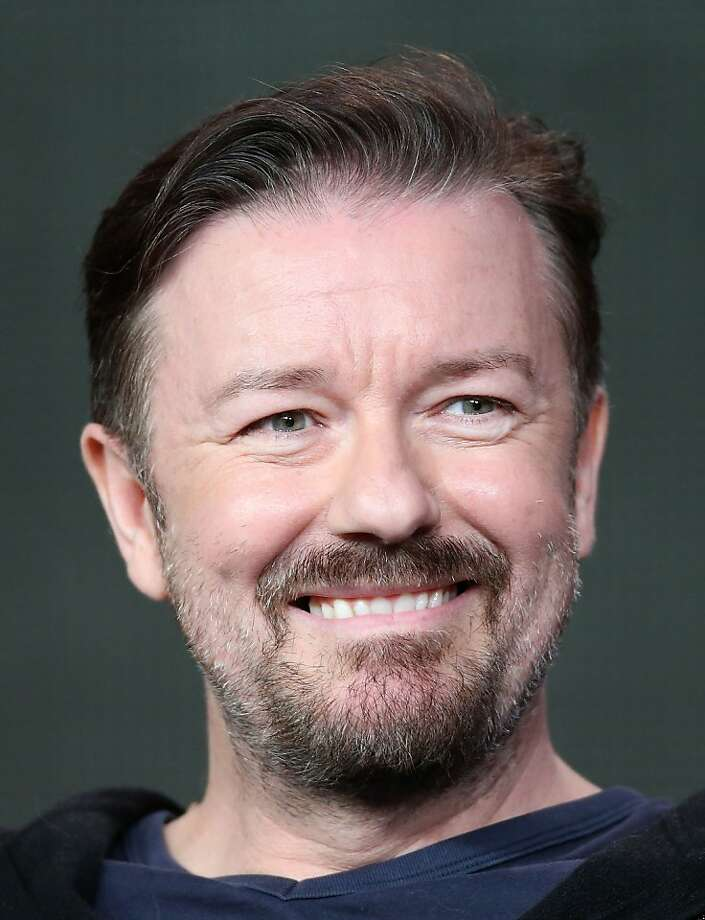 American viewers have trouble separating Ricky Gervais' persona from his roles. Photo: Frederick M. Brown, Getty Images