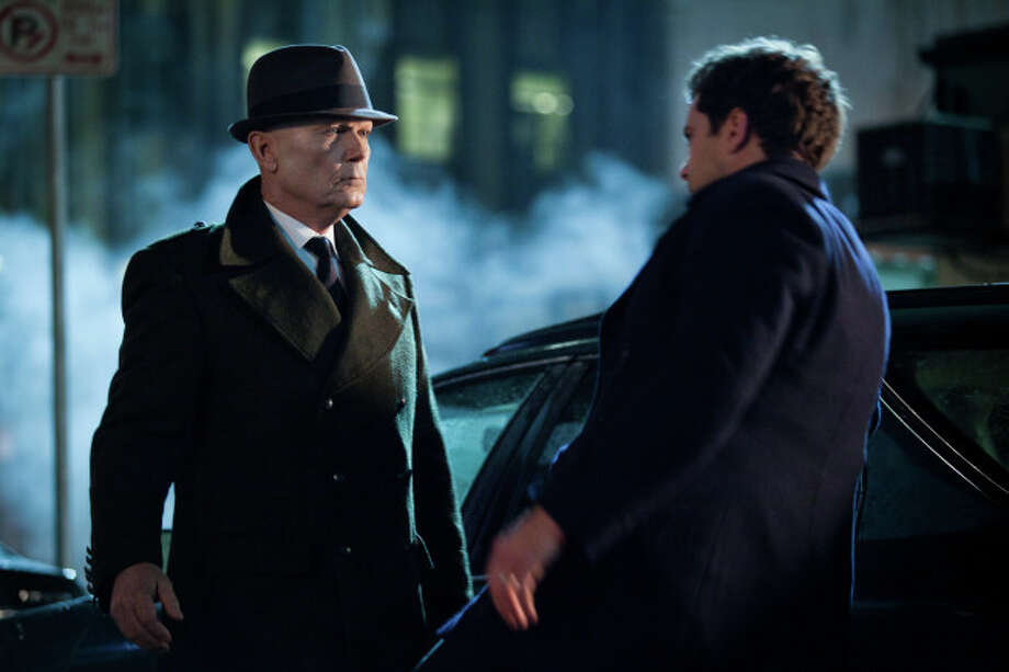 FRINGE: Peter (Josh Jackson, R) battles Windmark (guest star Michael Kospa, L) in the final and extraordinary battle for the fate of mankind in the all-new An Enemy of the Fate, Part Two of the 100th episode and special two-hour series finale of FRINGE airing Friday, Jan. 18  (9:00-10:00 PM ET/PT) on FOX. ©2013 Fox Broadcasting Co. CR: Liane Hentscher/FOX