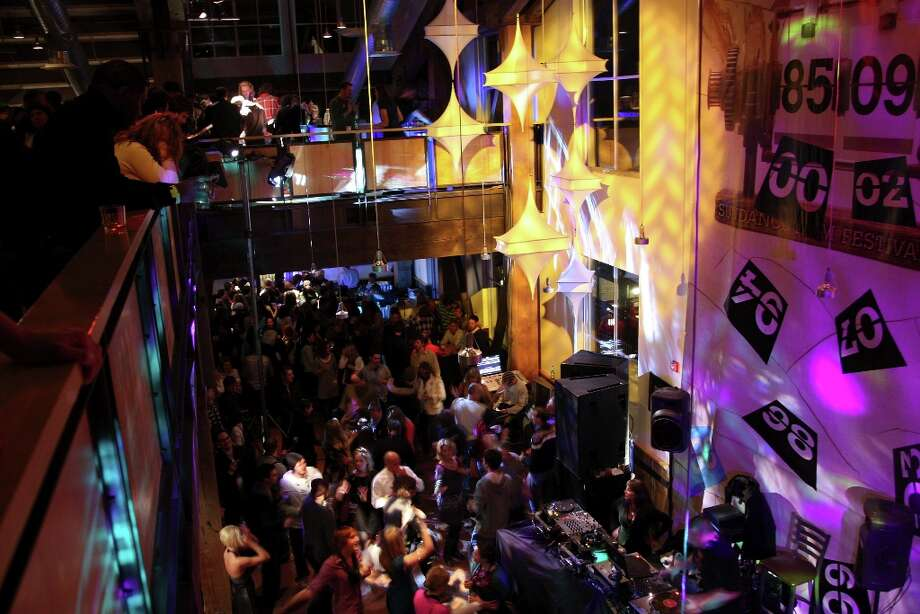 A general view of the Park City Opening Night party held at the Legacy Lodge during the 2009 Sundance Film Festival on January 15, 2009 in Park City, Utah. Photo: Bryan Bedder, Getty Images / 2009 Getty Images