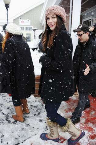 Actress Liv Tyler attends the Stella Cafe At T-Mobile Google Music Village At The Lift - Day 2 - during the Sundance Film Festival on January 21, 2012 in Park City, Utah. Photo: Frazer Harrison / 2012 Getty Images
