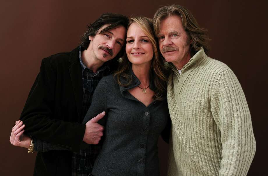 Actors John Hawkes, Helen Hunt and William H. Macy pose for a portrait during the 2012 Sundance Film Festival at the Getty Images Portrait Studio at T-Mobile Village at the Lift on January 23, 2012 in Park City, Utah. Photo: Larry Busacca, Getty Images / 2012 Getty Images